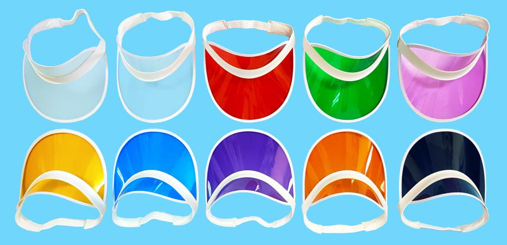 Кепки цветные